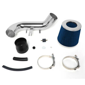 For 02 06 Acura Rsx 2 0l Hi flow Short Ram Air Intake System W blue Cone Filter