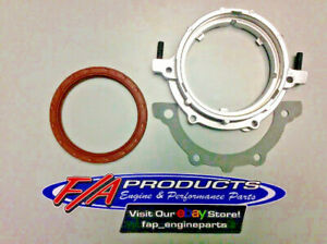 Small Block Chevrolet 1986 Up 1 Piece Rear Main Seal Retainer With Viton Seal