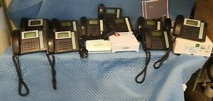 Fortinet Fvc 100 Fortivoice Pbx W 11 Phones Sonicwall Firewall Voip Set 7 31