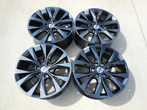 20 Fits Ford F150 Black Chrome Wheels King Ranch Truck Pvd 20x8 5 Set 4 10003