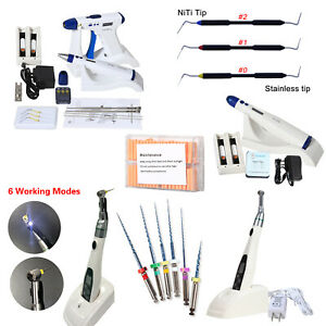 Dental Endo Obturation System Percha Gutta Gun Pen Led Endo Motor Files Plugger