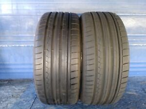 2 Dunlop Sp Sport Maxx Gt Dsst Rft 245 35 20 Bmw With 8 5 32nd Tread Left 95 Y