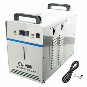 Cw 5000dg Industrial Water Chiller 6l Temperature Cnc Laser Engraving Machine
