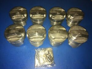 Chevy 396 Trw Forged Dome Top Pistons 12 5 1 Bbc Usa Made 1790p Mahle Speed Pro