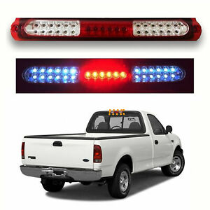 Led Third Brake Tail Light Red Clear Lens Cargo Lamp 1997 2003 Ford F 150 F150