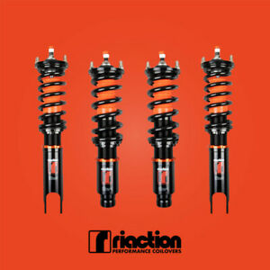 92 95 Honda Civic Riaction Performance Coilover Kit 32 Way Adjustable Control