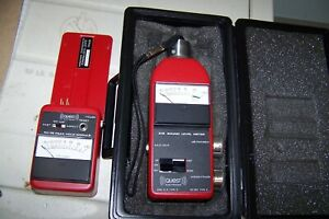 Quest 215 Sound Meter With Ph 35 Peak Hold Module As Is Cheap