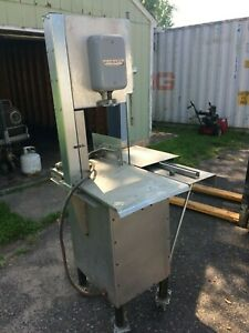 Hobart 5614 Commercial Meat Bone Lamb Beef Cutter Saw 2 Hp 200 230v 3 Phase