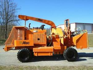 2007 Altec Dc1217 Spw Drivable Wood Chipper low Hours