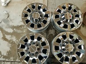 20 Gmc Denali 2500 Sierra Silverado Factory Oem Wheels Rims 2011 19 Set Of4