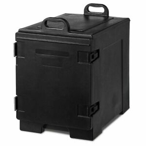 81 Quart Capacity End loading Insulated Food Pan Carrier