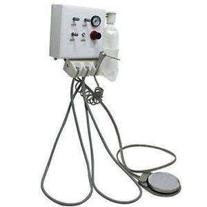 Portable Dental Turbine Unit Work With Air Compressor Hanging Wall Type