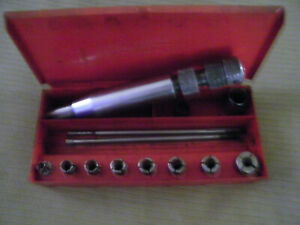 Vintage Snap On A 37 Clutch Alignment Tool With Metal Box Marked Snap On