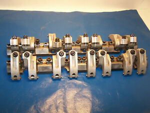 Jesel Shaft Rocker Arms 18 Degree Sbc 2 00 Intake 1 90 Exh Rockers Chevy Used