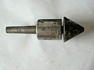Bull Nose Live Center With Interchangeable Tip Tapered Shank