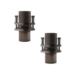 2 5 Od Id Stainless Exhaust Spherical Joint Spring Bolt Flange 2 Bolts 2x