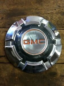 Vintage 3 4 1 Ton Gmc Polished Dog Dish Wheel Hubcaps 12 Diameter Orig Paint
