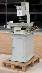 Novakon Systems Ltd Nm 135 Cnc Bed Mill Bench Top Series With Stand
