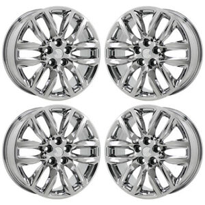 19 Buick Envision Bright Pvd Chrome Wheels Rims Factory Oem 4152 Exchange
