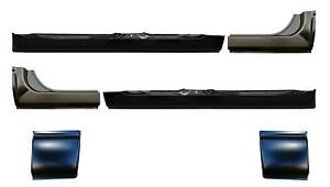 Oe Style Rocker Panel With Extention Cab Corner Kit For 06 09 Ram Mega Cab