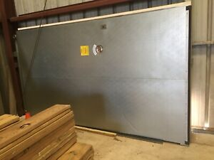 Jamison Nice 4 Power Operated Single Slide Cooler Door 6 x11 High Nice Used