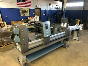 Pitney Bowes Di950 With A Table Conveyor Barcode Reader Rebuilt 12 19