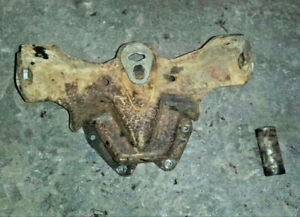 Ford Tractor 8n Front Axle Mount Housing W pin Good Shape 8n Ford Part Bolster