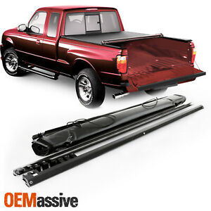For 1994 10 Mazda B2300 2500 3000 4000 Ranger 72 Bed Soft Roll Up Tonneau Cover