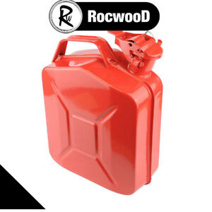 Petrol And Diesel 5 Litre Jerry Can Metal