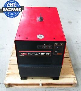 Lincoln Electric Welder Power Wave 220v Power Source Mig Tig 10942 455m