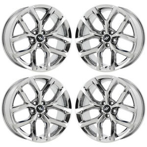 20 Dodge Challenger Bright Pvd Chrome Wheels Rims Factory Oem 2652 Exchange