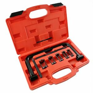 10 Pieces Engine Overhead Valve Spring Installer Remover Set Compressor Tool Kit