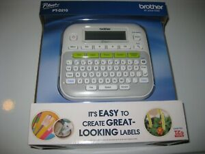 Brother Ptd210 P touch Easy Compact Label Maker White Brand New Sealed