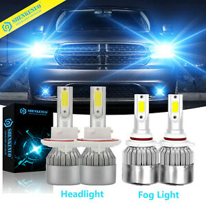 H13 9008 9006 Hb4 Led Headlight Bulb For Dodge Ram 1500 2500 3500 2006 2007 2008