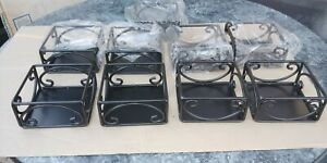 American Metalcraft Square Condiment Rack Caddy Lot