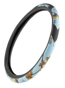 Realtree Xtra Ice Blue Steering Wheel Cover 2 Grip Camouflage Bridger
