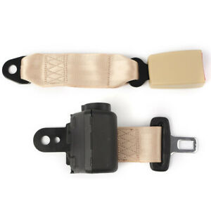 2 Point Retractable Car Seatbelt Kit Extender Buckle Clip Universal Brige Auto