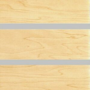 24 X 48 Par Of Slatwall Mdf Panel 3 Maple Melamine