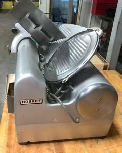 Hobart 1712 Automatic Deli Meat Cheese Slicer Commercial