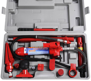 4 Ton Porta Power Hydraulic Jack Repair Kit Body Frame Repair Kit Auto Shop Tool