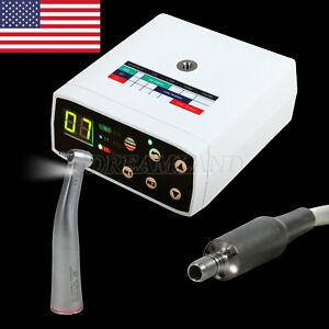 Dental Led Electric Micromotor Brushless Compatible 1 5 Led Contra Angle Fit Nsk