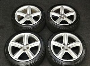 4 Factory Audi A5 S5 18 Oem Wheels Blizzak Winter Snow Tires