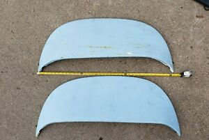 Old Custom Cruiser Fender Skirts Chevy Dodge Ford 49 50 51 52 53 54 55 Make Fit