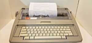 Brother Sx 4000 Daisy Wheel Portable Electronic Display Typewriter free Shipping