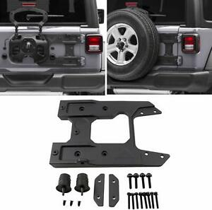 Spare Tire Carrier Tailgate Oversized Reinforcement Kit For Jeep Wrangler Jl 18