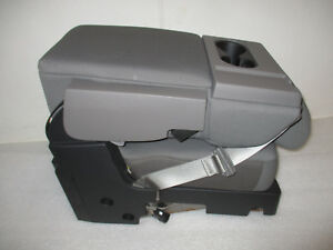 2019 Ford F150 Center Jump Seat console Gray Cloth Oem New 102