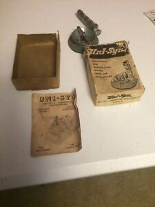 Vintage 50s Nos Unisyn Carburetor Tuneup Auto Gm Pontiac Ford Chevy Rat Hot Rod