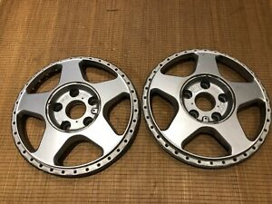 Pair Of Oz Racing 17 Futura Face 5x112 Cb 57 1mm Audi Vw
