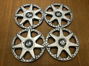 Set Oz Racing 17 Hartmann Motosport Centers 5x112 Audi Vw Super Rare