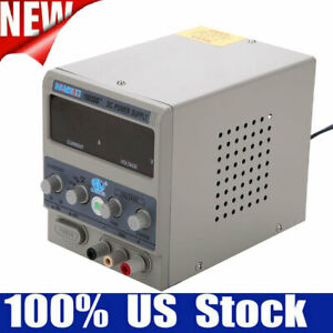 5a 110v Digital Switching Precision Variable Dc Power Supply Adjustable Lab Test
